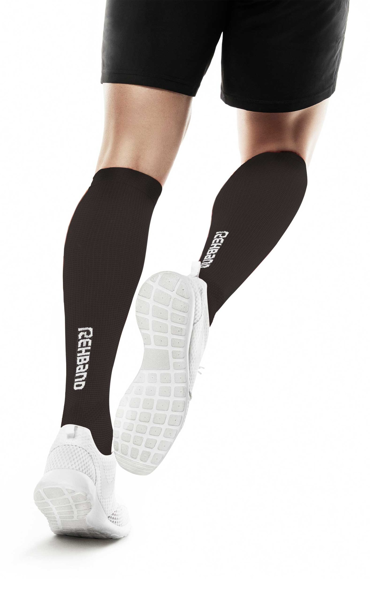 QD Compression Socks - Black - XL