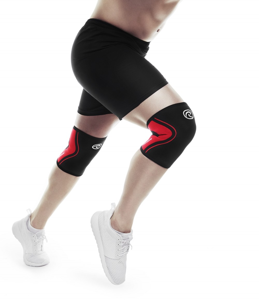 RX KNEE Sleeve, 3mm, Black/Red, XS