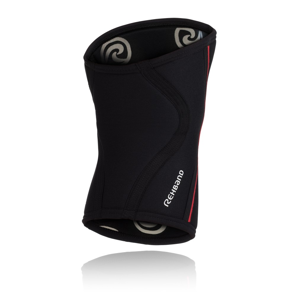 Rx KNEE Sleeve, 7mm, Black /Red M