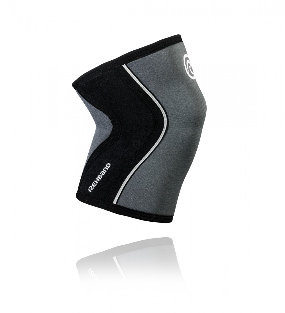 RX KNEE Sleeve 7mm Steel Grey/Black XL