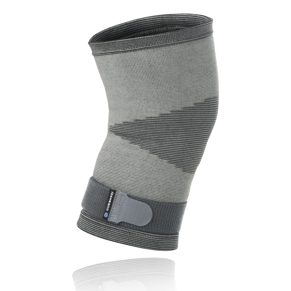QD Knitted Knee Sleeve Grey M