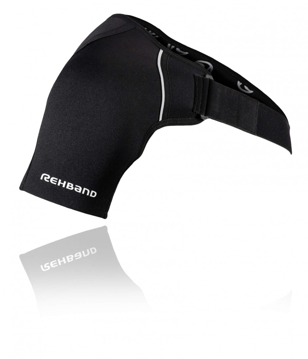 QD Shoulder Support L 3mm Black L