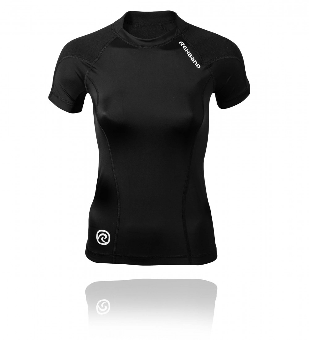 QD Thermal Zone Top Women Black XS