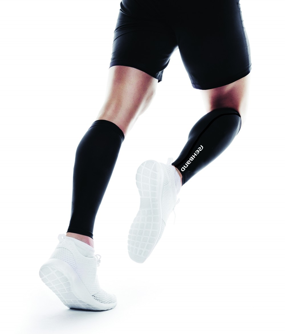 QD Compression Calf Sleeve - Black - L/XL